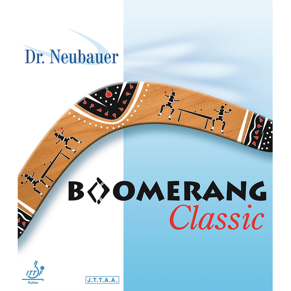 Dr.Neubauer Boomerang Classic Table Tennis and Ping Pong Rubber, Choose Variation