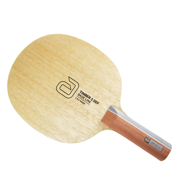 Andro Timber 5 DEF Table Tennis & Ping Pong Blade, Authentic, Choose Handle Type