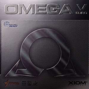 Xiom Omega V Europe Table Tennis & Ping Pong Rubber, Choose Color and Thickness