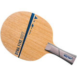 Victas Dyna Five Soft Table Tennis & Ping Pong Blade, Authentic, Pick Handle Type