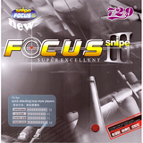 Friendship 729 Focus 3 Snipe Table Tennis and Ping Pong Rubber, Choose Variation