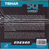 Tibhar 5Q Sound Table Tennis & Ping Pong Rubber, Choose Your Color & Thickness
