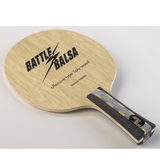 Yasaka Battle Balsa Table Tennis & Ping Pong Blade, Authentic, Pick Handle Type