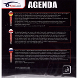 Spinlord Agenda OX Table Tennis and Ping Pong Rubber, Choose Color and Thickness