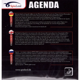 Spinlord Agenda Table Tennis & Ping Pong Rubber, Choose Your Color & Thickness