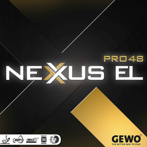 Gewo Nexxus EL Pro 48 Table Tennis & Ping Pong Rubber, Choose Color & Thickness