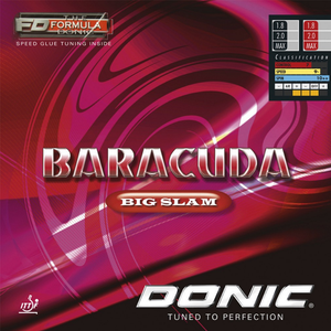 Donic Baracuda Big Slam Table Tennis & Ping Pong Rubber, Pick Color & Thickness