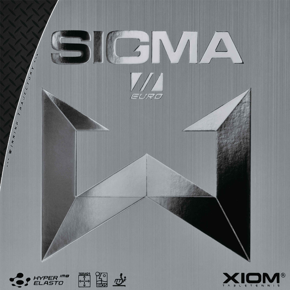 Xiom Sigma II Europe Table Tennis & Ping Pong Rubber, Choose Color and Thickness