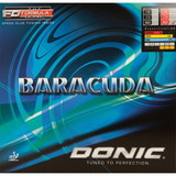 Donic Baracuda Table Tennis and Ping Pong Rubber, Pick Your Color and Thickness
