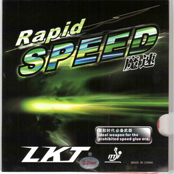Lkt Rapid Speed Friendship Table Tennis & Ping Pong Rubber, Pick Color & Thickness