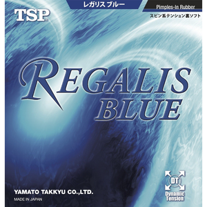 TSP Regalis Blue Table Tennis & Ping Pong Rubber, Choose Your Color & Thickness