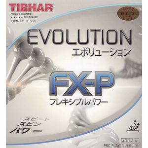 Tibhar Evolution FX-P Table Tennis & Ping Pong Rubber, Choose Color & Thickness