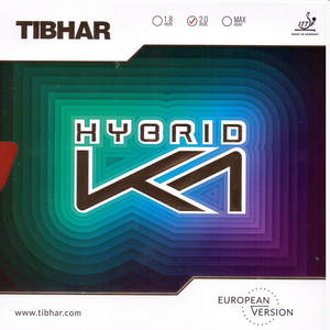 Tibhar Hybrid K1 European Version Table Tennis and Ping Pong Rubber, Choose Variation
