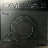 Xiom Omega V Asia Table Tennis and Ping Pong Rubber, Choose Color and Thickness