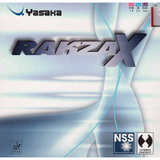 Yasaka Rakza X Table Tennis and Ping Pong Rubber, Choose Your Color & Thickness