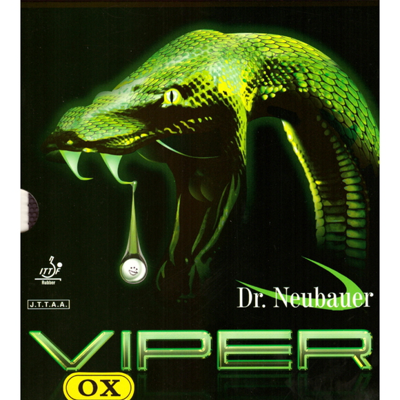 Dr.Neubauer Viper Table Tennis and Ping Pong Rubber, Choose Color and Thickness