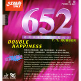DHS 652 Table Tennis & Ping Pong Rubber, 100% Authentic, Choose Color and Thickness
