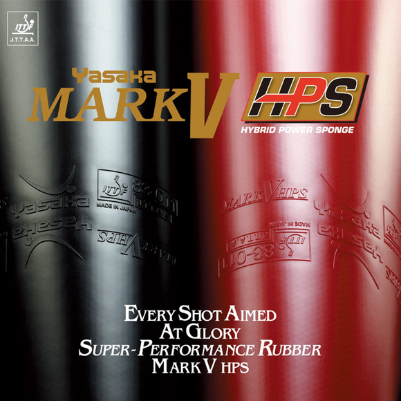 Yasaka Mark V HPS Table Tennis & Ping Pong Rubber, Choose Ur Color & Thickness