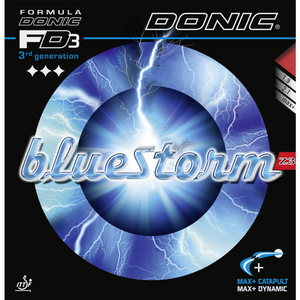 Donic Bluestorm Z3 Table Tennis & Ping Pong Rubber, Pick Your Color & Thickness