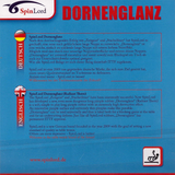 Spinlord Dornenglanz Table Tennis & Ping Pong Rubber, Choose Color and Thickness
