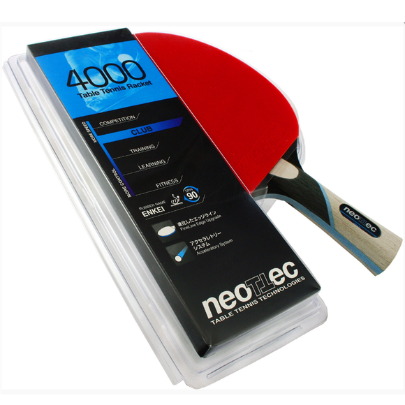 Neottec 4000 Table Tennis & Ping Pong Racket, High Quality, 100% Authentic