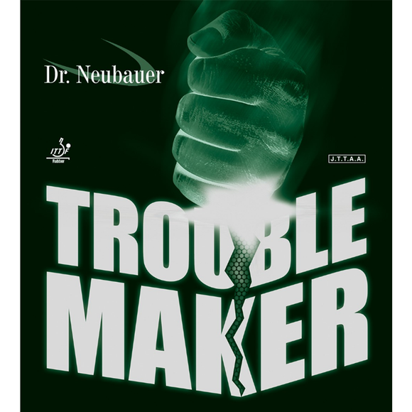 Dr.Neubauer Trouble Maker Table Tennis & Ping Pong Rubber, Pick Color & Thickness