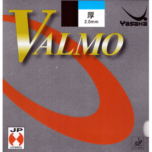 Yasaka Valmo Table Tennis and Ping Pong Rubber, Choose Your Color and Thickness