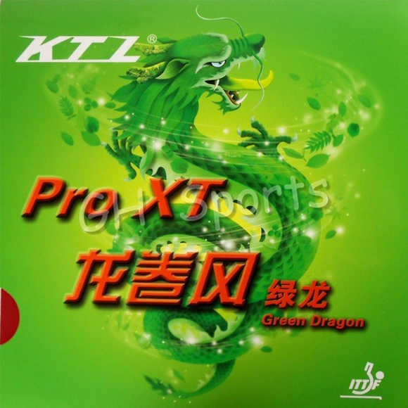Friendship KTL Pro XT Green Dragon Table Tennis and Ping Pong Rubber, Pick Variation
