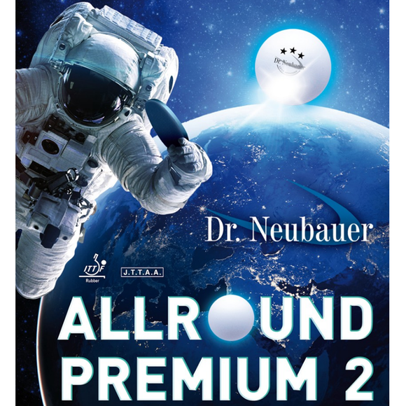 Dr.Neubauer Allround Premium 2 Table Tennis & Ping Pong Rubber, Choose Variation