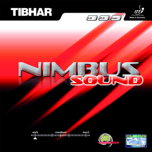 Tibhar Nimbus Sound Table Tennis & Ping Pong Rubber, Choose Color and Thickness