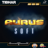 Tibhar Aurus Soft Table Tennis & Ping Pong Rubber, Choose Your Color & Thickness