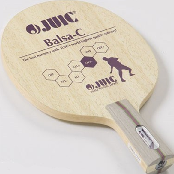 Juic Balsa-C Table Tennis Blades with CONC (FL) Handle Type, 100% Authentic