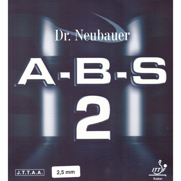 Dr.Neubauer A-B-S 2 Table Tennis & Ping Pong Rubber, Choose Color and Thickness