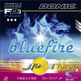Donic Bluefire JP 01 Turbo Table Tennis and Ping Pong Rubber, Choose Color and Thickness