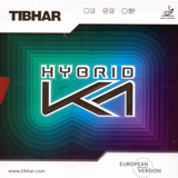 Tibhar Hybrid K1 European Version, Table Tennis Rubber, Choose Color & Thickness