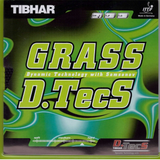 Tibhar Grass D.TecS Table Tennis and Ping Pong Rubber, Choose Color & Thickness