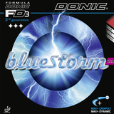 Donic Bluestorm Z1 Table Tennis and Ping Pong Rubber, Choose Color and Thickness