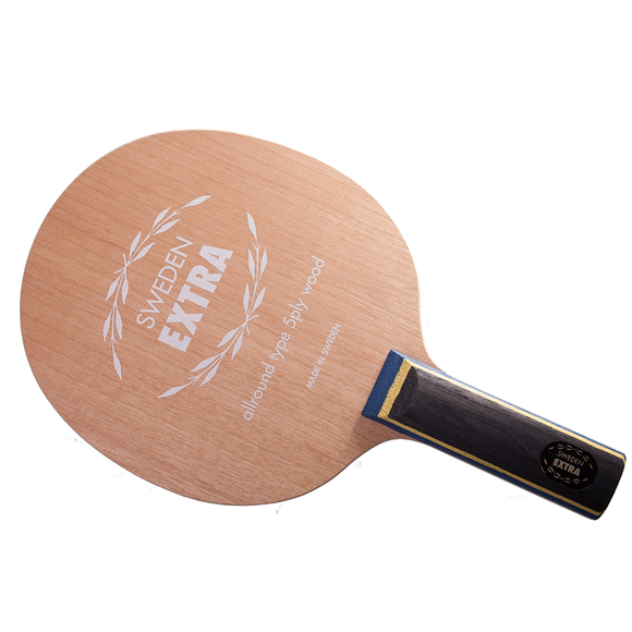 Yasaka Sweden Extra, Table Tennis and Ping Pong Blade, Choose Your Handle Type
