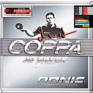 Donic Coppa JO Silver Table Tennis & Ping Pong Rubber, Choose Color & Thickness