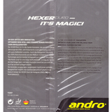 Andro Hexer Duro Table Tennis & Ping Pong Rubber, Choose Your Color & Thickness