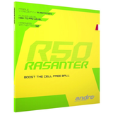 Andro Rasanter R50 Table Tennis & Ping Pong Rubber, Choose Ur Color & Thickness