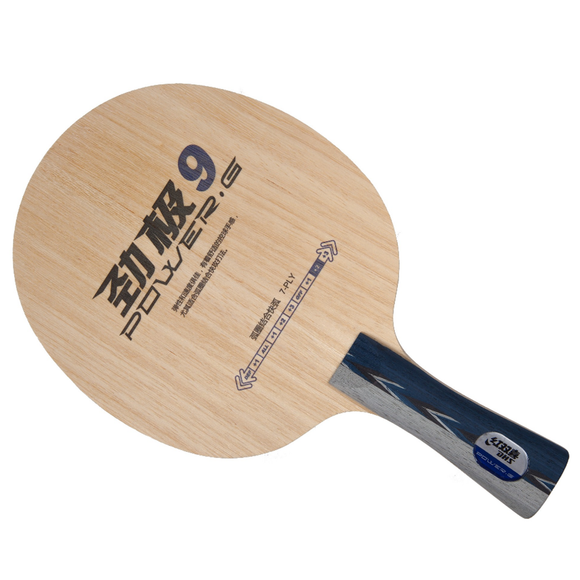 DHS Power G9 OFF Table Tennis and Ping Pong Blade w/ FL Handle Type, Authentic