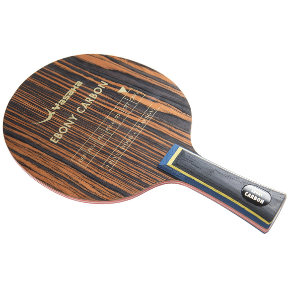 Yasaka Ebony Carbon Table Tennis and Ping Pong Blade with ANAT Handle Type