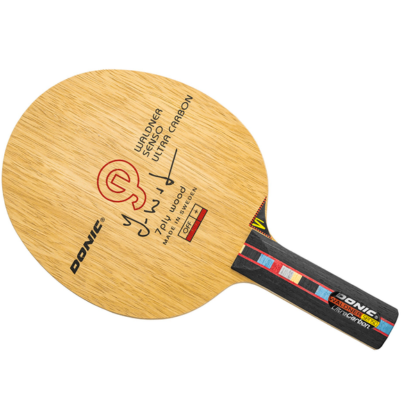Donic Waldner Ultra Senso Carbon JO Shape Table Tennis Blade - ST Handle Type