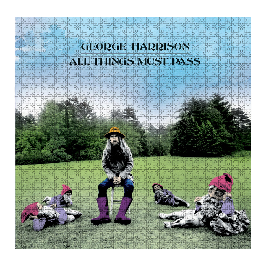 All Things Must Pass Jigsaw Puzzle - George Harrison