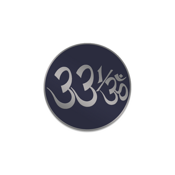 33 1/3 Logo Enamel Pin - George Harrison Shop