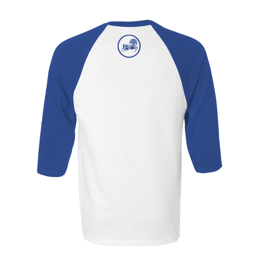 33 1/3 Royal/White Raglan - George Harrison Shop