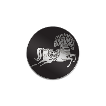 Dark Horse Logo Enamel Pin - George Harrison