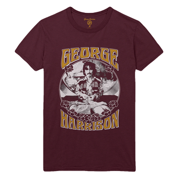 Floral Frame Tee - George Harrison Shop