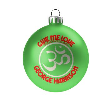 Give Me Love Ornaments - George Harrison Shop